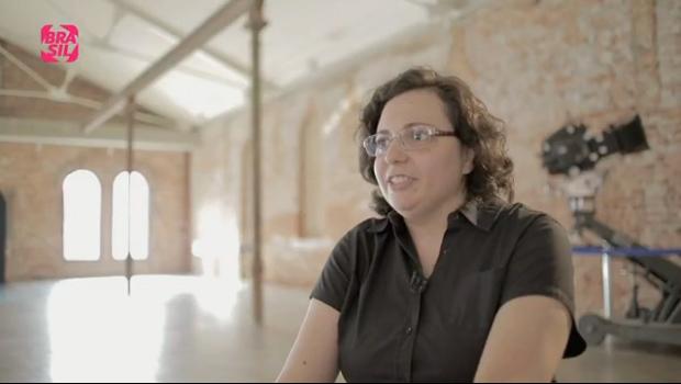 Profa. Márcia - Canal Brasil - 2013