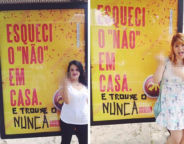 Mila Alves e Pri Ferrari