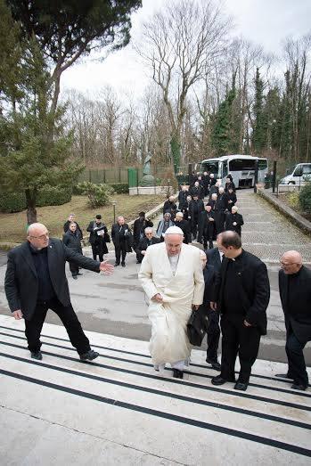 pe valdir recepcionando papa