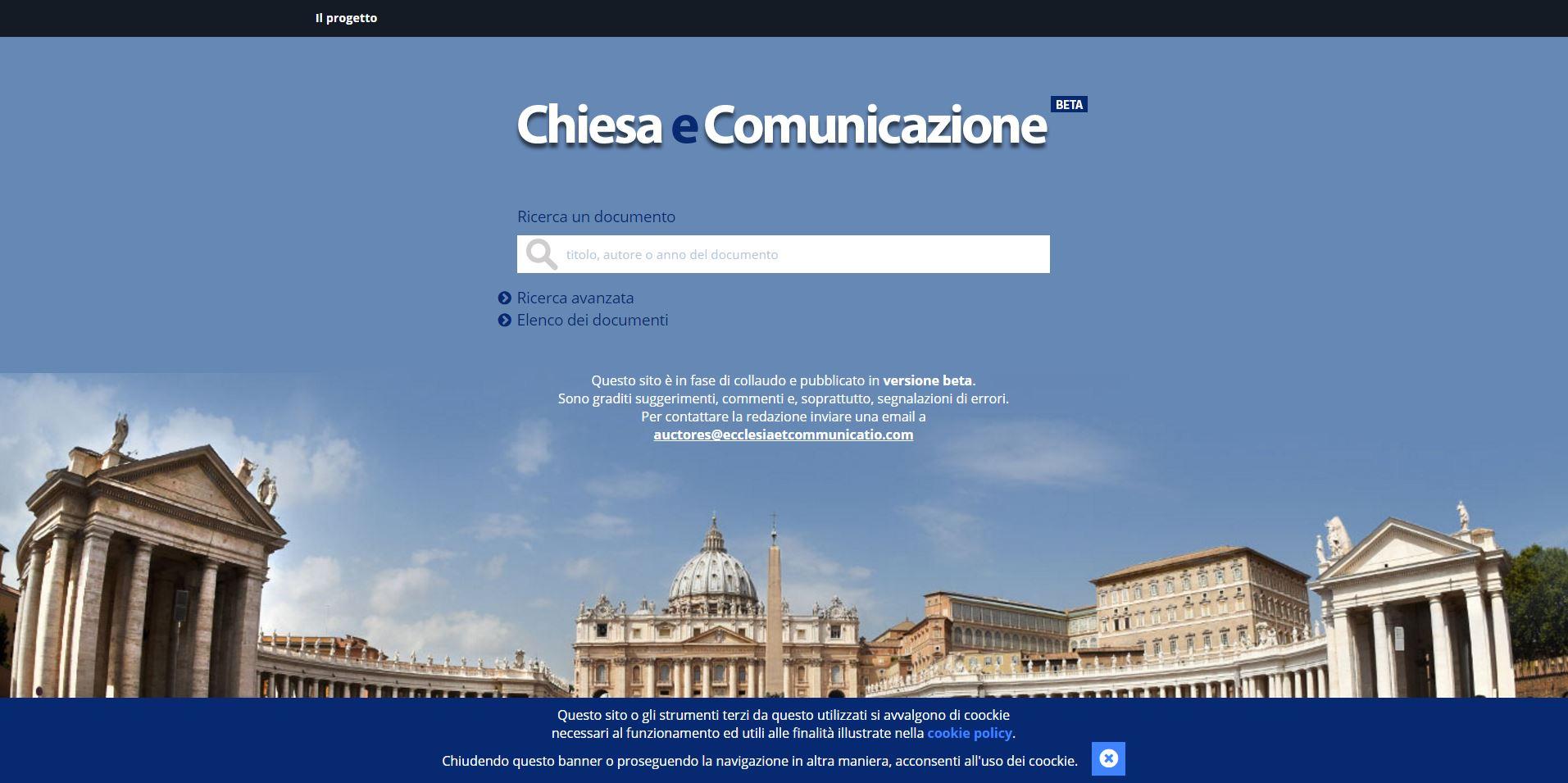 chiesa e comunicazione