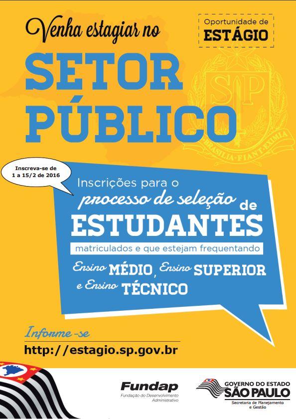 processo seletivo setor publico