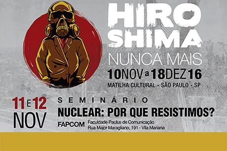 Seminário: Energia nuclear, por que resistimos?
