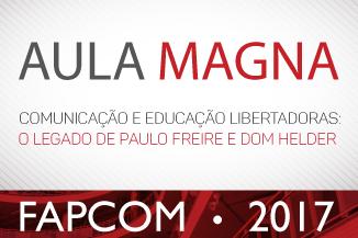 Aula Magna - FAPCOM 2017