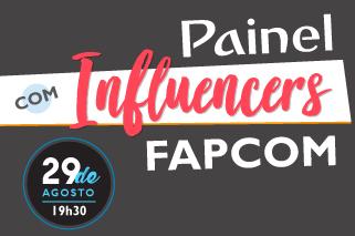 Painel com Influencers