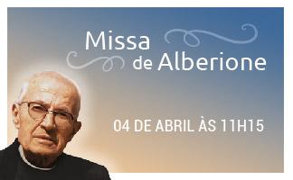 Missa Pe. Tiago Alberione